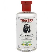 Тоник без спирта Thayers Witch Hazel Aloe Vera Formula Alcohol Free Toner Cucumber 355мл