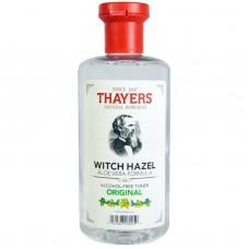 Тоник без спирта Thayers Witch Hazel Aloe Vera Formula Alcohol-Free Toner Original 355мл