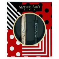 Подарочный набор Vivienne Sabo (Тушь для ресниц с эффектом сценического объема Cabaret Premiere Mascara 9мл черная + Стойкий карандаш для глаз Vivienne Sabo Regard Coquet 6г)