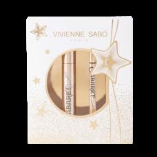 Набор Vivienne Sabo: тушь для ресниц Cabaret Premiere Mascara черная + подводка-фломастер Cabaret Premiere черная
